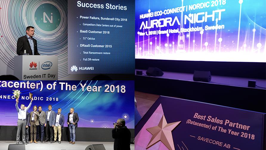 Savecore & Huawei: Ett framgångskoncept