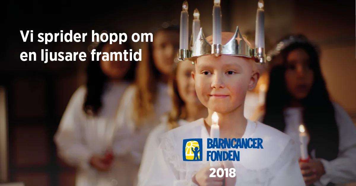 Sprid hopp för barn med cancer
