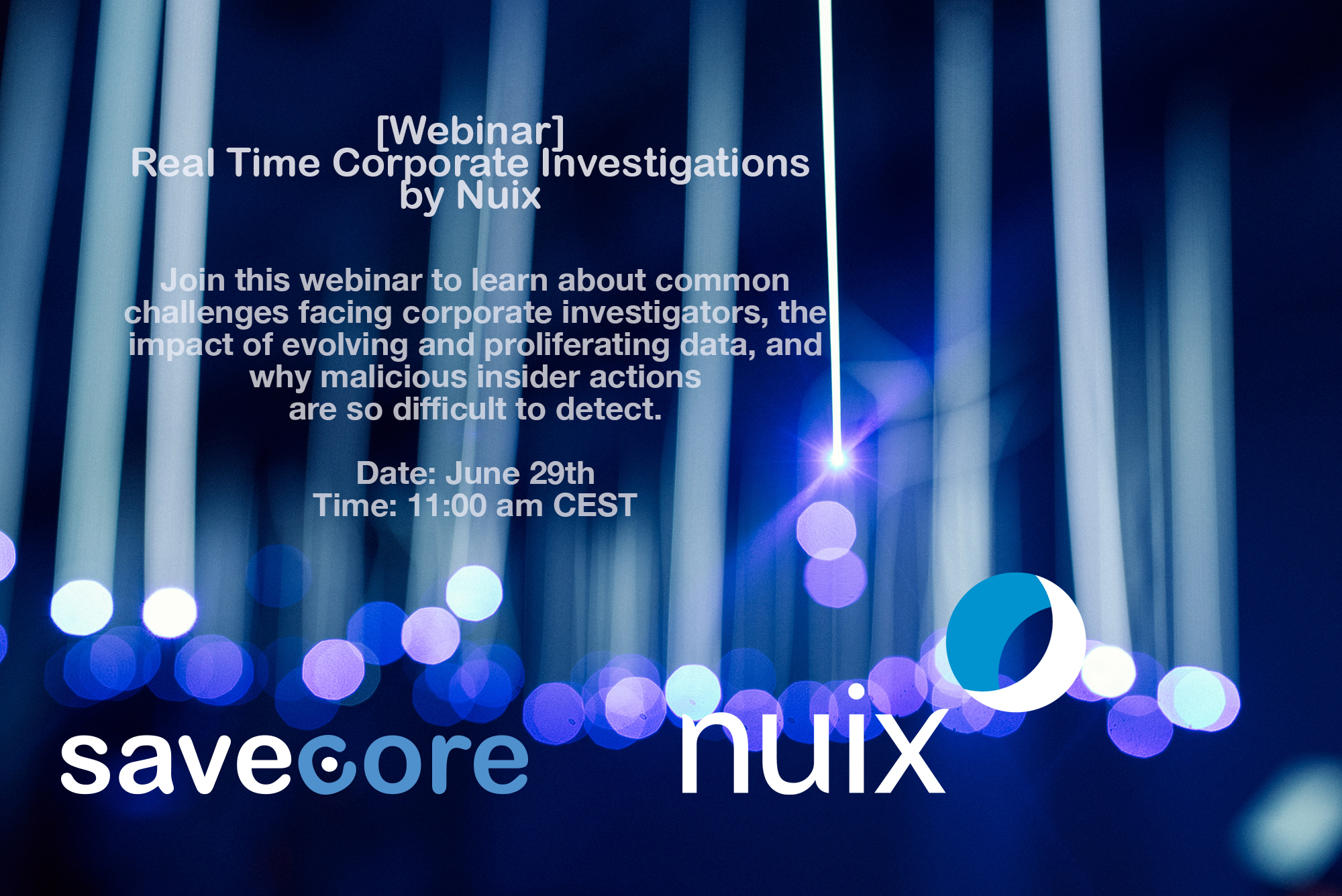 [Webinar] Real Time Corporate Investigations